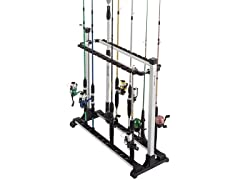 Fishing Rack Aluminum Holder