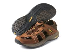 Teva Men's Churnium Brown Leather