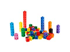 Building Block Learning Snap Cubes (100 Piece)