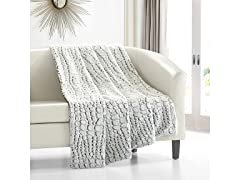 Chic Home Design Crocodile Throw Blanket