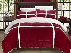 Chic Home Chloe Sherpa Comforter Set