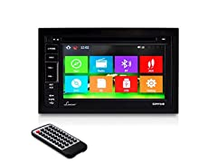 "Lanzar 6.5"" Touchscreen Headunit w/ GPS and Bluetooth"