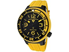 Men's Neptune Watch - Yellow/Black