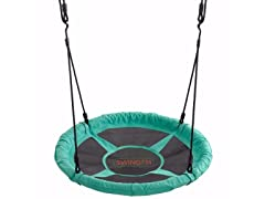 "Swingan - 37.5"" Super Fun Nest Swing With Adjustable Ropes"