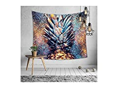 Colorful Pineapple Wall Hanging