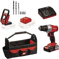 Einhell 4513791 18V 1.5 Ah Lithium-Ion Drill Workshop Kit Deals