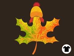 Autumn Leaf on the Wind