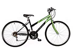 TITAN Wildcat Lime Green Ladies Bike