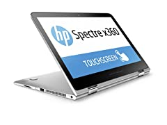 "HP Spectre x360 13"" Intel i7 QHD Convertible"