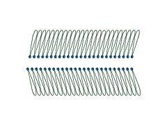 AmazonBasics Ball Bungee Cords (50-Pk)