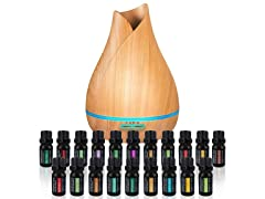 Aromatherapy Essential Oil Diffuser Bundle