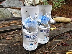 Blumarble Grey Goose Champagne Flute Set of 2