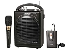 Rechargeable Portable PA System with Mic