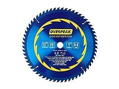 Overpeak 12-Inch Circular Saw Blades