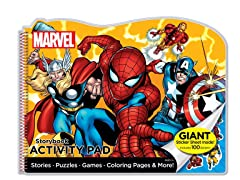 Marvel Heroes Storybook Activity Pad