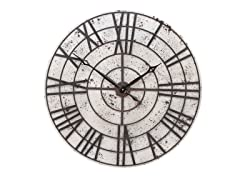 "32"" Metal Wall Clock"