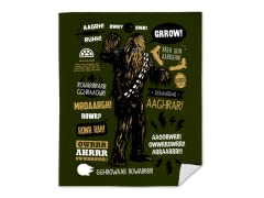 """Wookie Famous Quotes"" Blanket"