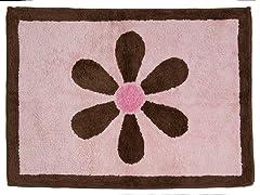 Pam's Petals Pink Rug
