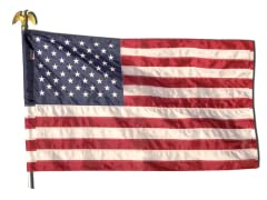 US 2.5' x 4' Polyester Flag