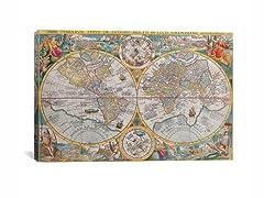 The World ca1594 26x18