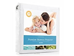 LINENSPA Fabric Mattress Protector