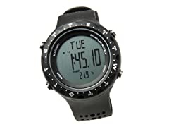 Men's Singletrak Black Digital Watch