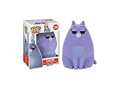 Funko POP Movies: Secret Life of Pets Action Figure - Flocked Chloe (Amazon Exclusive)