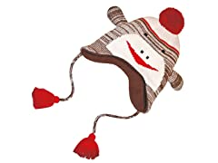 MUK LUKS® Sock Monkey Hat, Brown