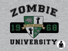Zombie U Pullover Hoodie