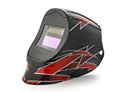 Viper Red Lightning with 1000F Filter Welding Helmet