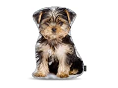 Yorkie Puppy Shaped Pillow