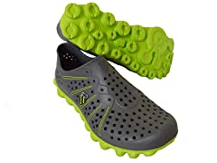 Women's TBS Recover - Charcoal/Green (5)