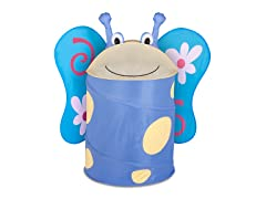 Kids Pop-Up Hamper - Butterfly