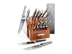 Dalstrong CS-18pc-Block - 18pc Knife Block Set