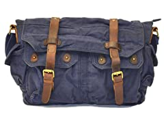 J Campbell Messenger Bag, Navy