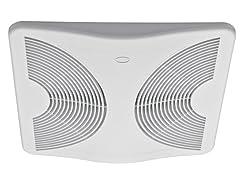 Energy Star Bath Fan, White