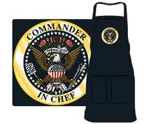 """""""Commander in Chef"""" Apron"""