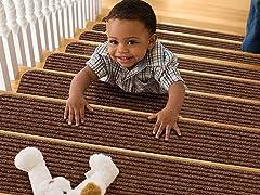 Non-Slip Carpet Stair Treads (Set of 15)