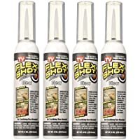 4-Pack Flex Seal Flex Shot 8oz Thick Rubber Adhesive Sealant