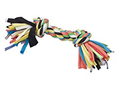 """Tuggin' Tees Rope Toy, 2 Knot - 10"""""""