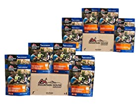 Mountain House Freeze Dried Food Case Packs