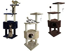 Furhaven Cat Tree Clubhouse Playground