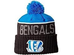 NFL Cincinnati Bengals 2015 Snapshot Sport Knit, Blue/Graphite, One Size