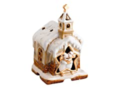 Tan Church Decorative Fragrance Warmer