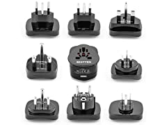 Bestten International Adapter 9pc Set