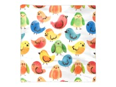 """Rainbow Birds"" Napkin"
