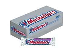 3 MUSKETEERS Chocolate, 36ct