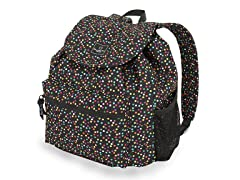 Spiral Dot Confetti Backpack