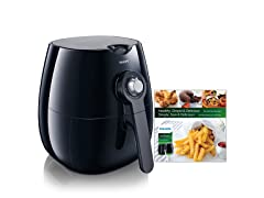 Philips Viva Airfryer (1.8lb/2.75qt), Black