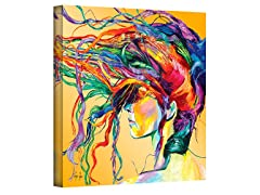 Linzi Lynn Windswept Wrapped Canvas Art
